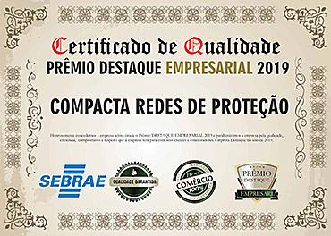 Certificado | Compactaredes.com.br